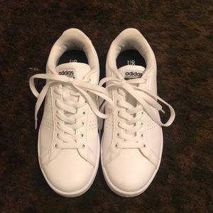 Adidas neo.   White.  Size 7 1/2